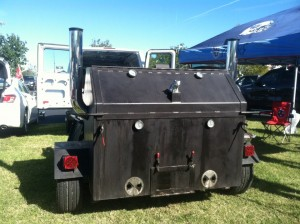 Martin's Small Hog BBQ Trailer